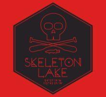 Skeleton Lake (black print) One Piece - Long Sleeve
