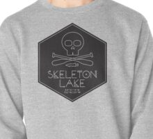 Skeleton Lake (black print) Pullover