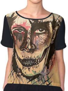 Colors of Death Chiffon Top