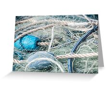 Enveloped Net and Rope Greeting Card