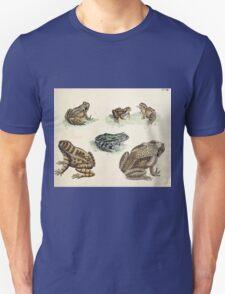 Naturgeschichte in Bildern mit erläuterndem Text E Strack 1820 Lief 3 Reptiles 018 T-Shirt