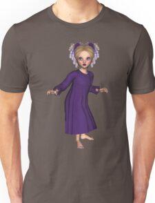 Little Strange Girl Daphine  Unisex T-Shirt