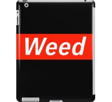 Supreme Weed iPad Case/Skin