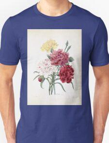 Choix des plus belles fleurs et des plus beaux fruits Pierre Joseph Redouté 1833 026 Beautiful Flowers Finest Fruits T-Shirt