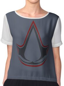 °GEEK° Assassin's Creed Logo  Chiffon Top