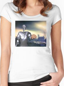 Hamlet Science-Fiction Women's Fitted Scoop T-Shirt