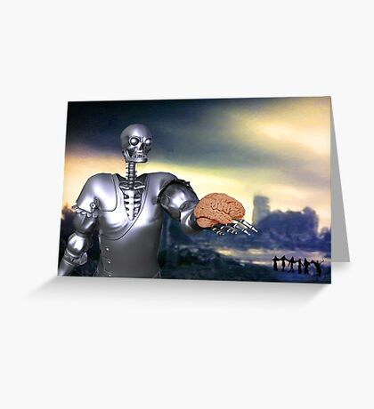 Hamlet Science-Fiction Greeting Card