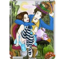 Alice and the Mad Hatter iPad Case/Skin