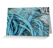 Net and Rope in Harmony Greeting Card
