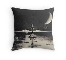 The Day Has Eyes, The Night Has Ears Throw Pillow