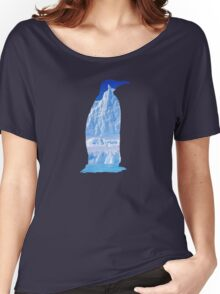 Penguin of the Antarctic  Women's Relaxed Fit T-Shirt