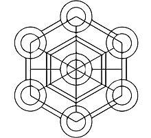 Geometric Cube 1 Photographic Print