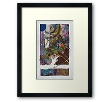 Entangled Web Framed Print