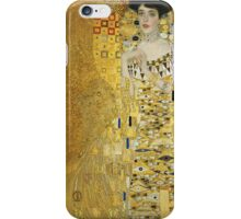 Gustav Klimt - Adele .  Golden Gustav Klimt  iPhone Case/Skin