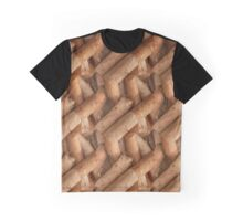 Cigarette Pattern Graphic T-Shirt