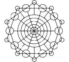 Geometric Circles 2 Photographic Print