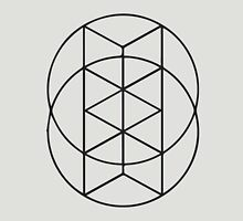 Geometric Circles 3 Unisex T-Shirt