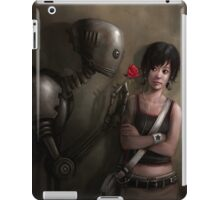 Robot In Love iPad Case/Skin