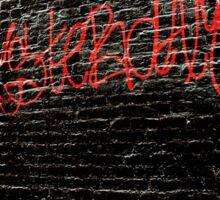 Amsterdam Graffiti Sticker