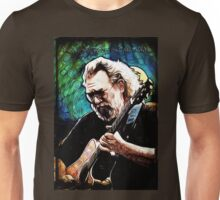 "Jerry Garcia- ""Birdsong"" Grateful Dead image Unisex T-Shirt"