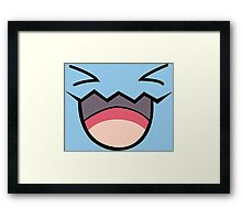 wobbufett pokemon Framed Print