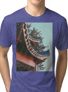 ORIENTAL STANDING Tri-blend T-Shirt