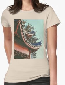 ORIENTAL STANDING Womens Fitted T-Shirt