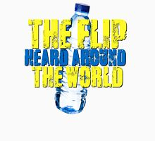 Water Bottle Flip The Flip Heard Around The World Talent Show Vintage Distressed Graphic Unisex T-Shirt