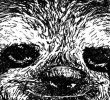 Sloth So Hard Sticker