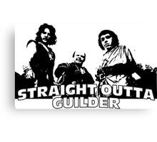 Straight Outta Guilder Canvas Print