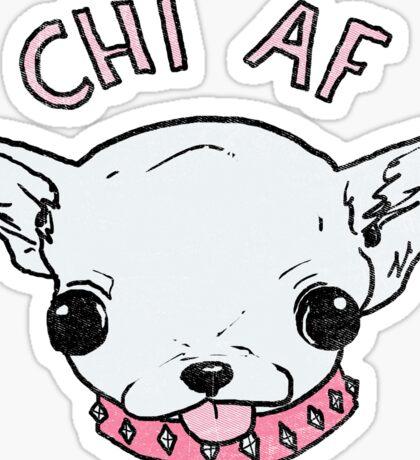 Chi AF Sticker