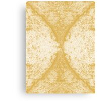 Step Crack Meeting Design (Spicy Mustard Color) Canvas Print