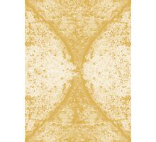 Step Crack Meeting Design (Spicy Mustard Color) Photographic Print