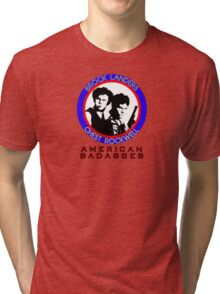 Brock and Chest, American Badasses Tri-blend T-Shirt