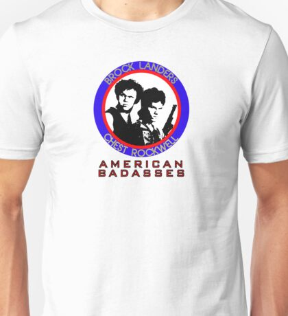 Brock and Chest, American Badasses Unisex T-Shirt