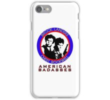 Brock and Chest, American Badasses iPhone Case/Skin