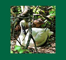 Trumpeter Swan Laying on a Nest Unisex T-Shirt