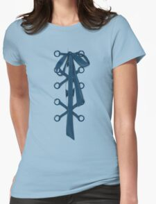 Lace Womens Fitted T-Shirt