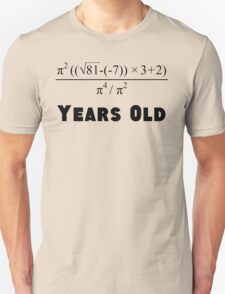 Algebra Equation 50th Birthday T-Shirt