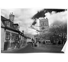 Stamford Town, Lincolnshire, England Poster