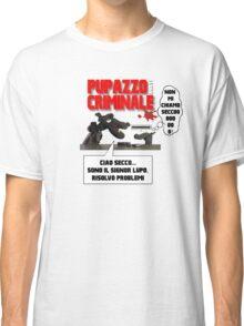 PUPPET FICTION - PUPAZZO CRIMINALE Classic T-Shirt