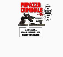 PUPPET FICTION - PUPAZZO CRIMINALE Men's Baseball ¾ T-Shirt