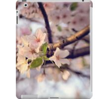 Pink Blooms iPad Case/Skin