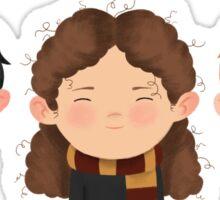 Harry Potter Trio: Harry, Hermione & Ron Sticker