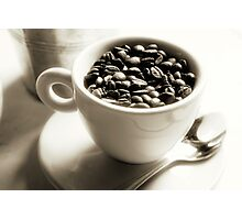 Fresh Coffee Beans Photographic Print