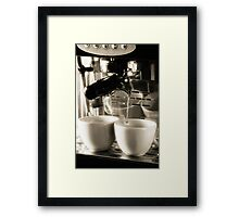 Coffee Lover 3 Framed Print
