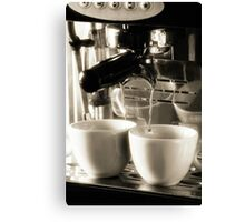 Coffee Lover 3 Canvas Print