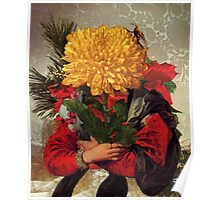 Portrait of Susanna Fourment as a Flower Arrangement Poster