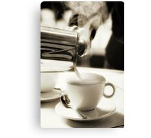 Coffee Lover 4 Canvas Print