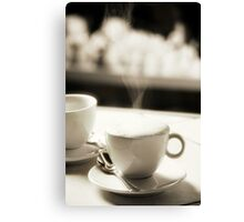 Coffee Lover 6 Canvas Print